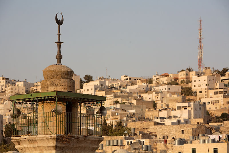 Mosque and communications tower - Hebron