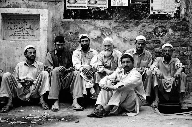 Pukhtun men - Peshawar