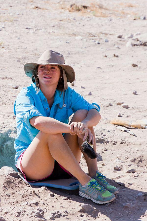 Sunnie Sartin (Archaeology field school)