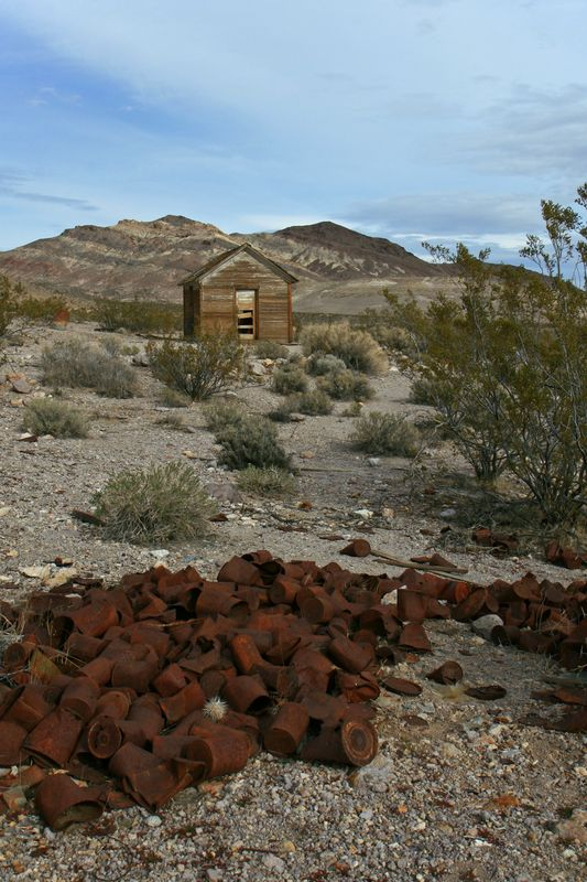 Rhyolite -- Abandoned mining town #2
