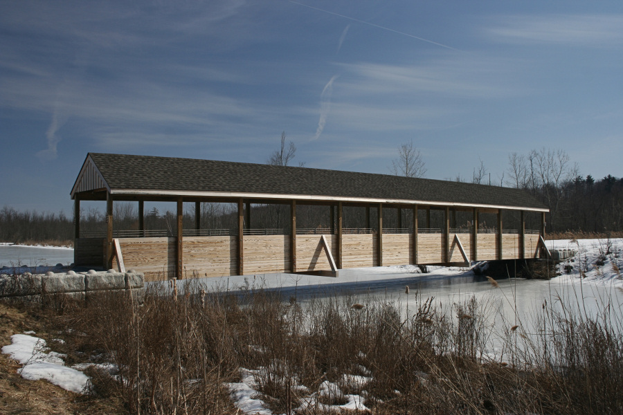 Covered Bridge<BR>March 11, 2008