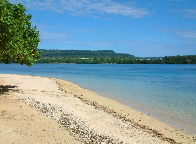 Beach on Utungake Island