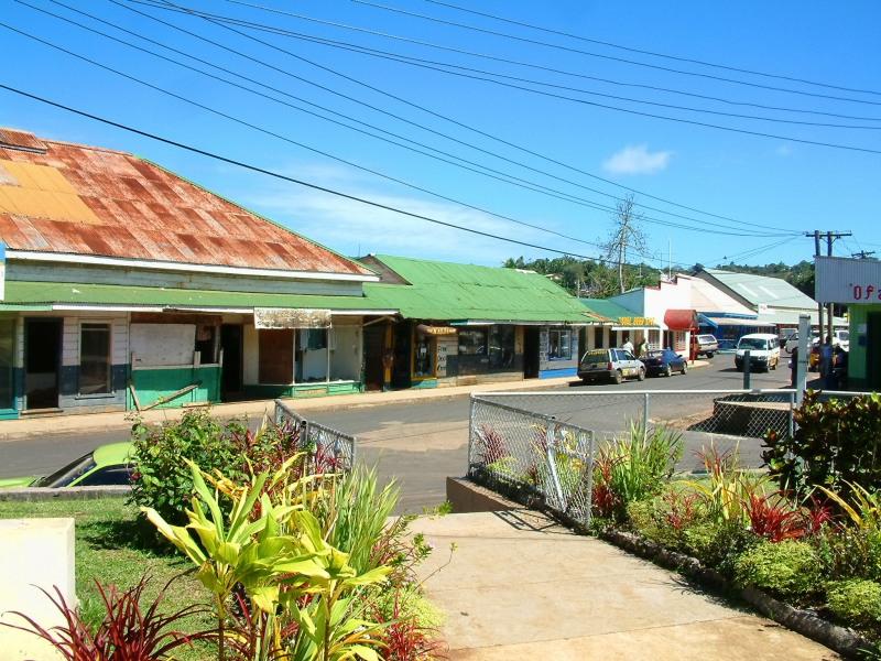 Downtown Neiafu