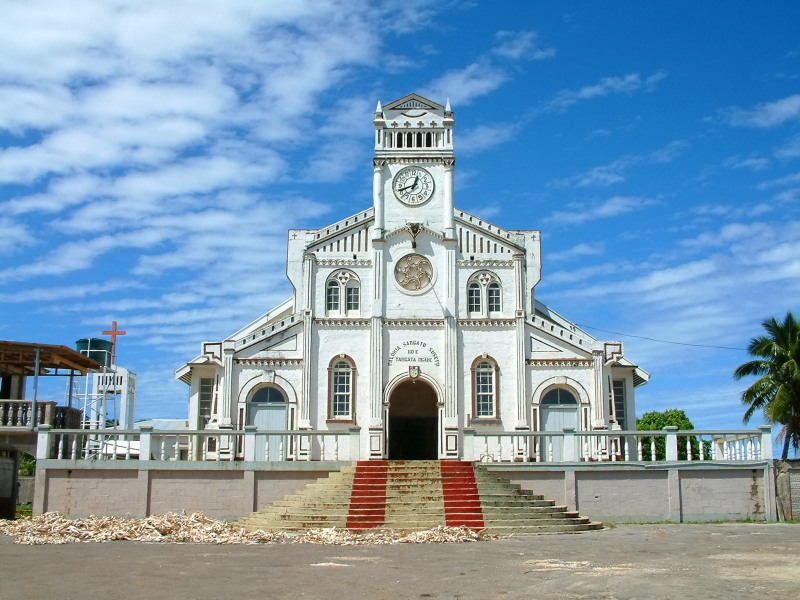 St. Josephs Cathedral in Neiafu