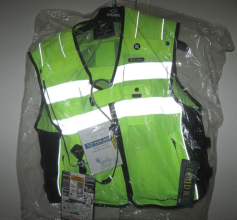 Jan 12, 2011 - Hit-Air airbag vest for motorcylist