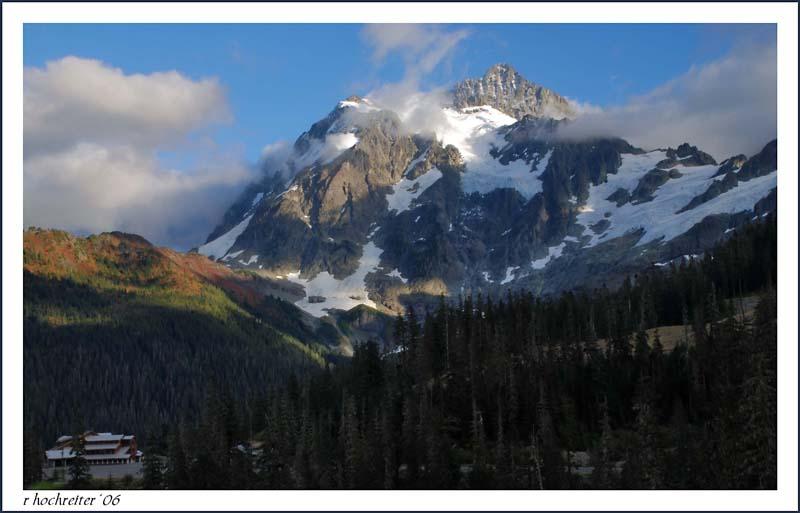 Mt Shuksan and Mt Baker Ski Lodge
