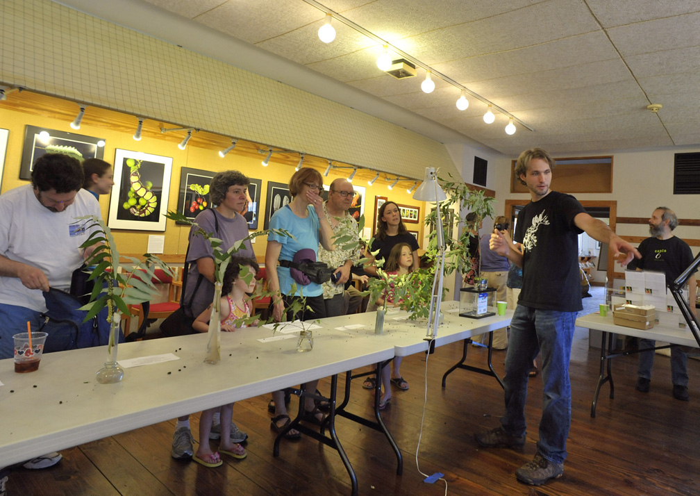 Broadmoor Caterpillar Show:  Sam Explaining