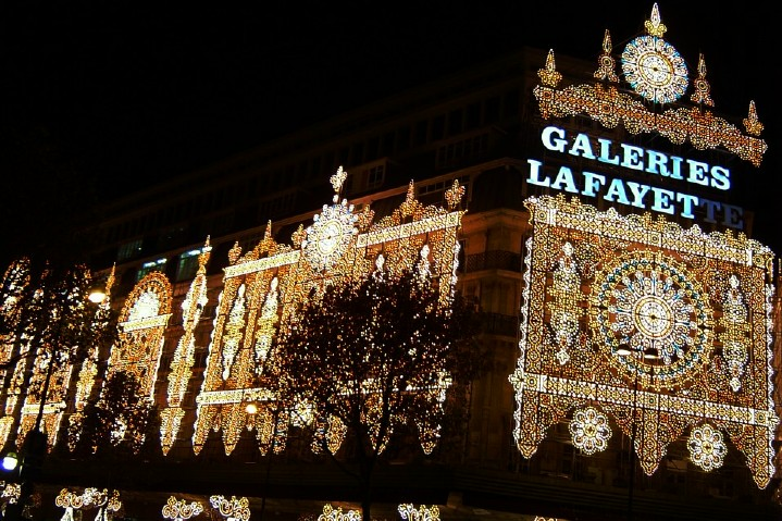 Galeries Lafayette - Christmas Lights