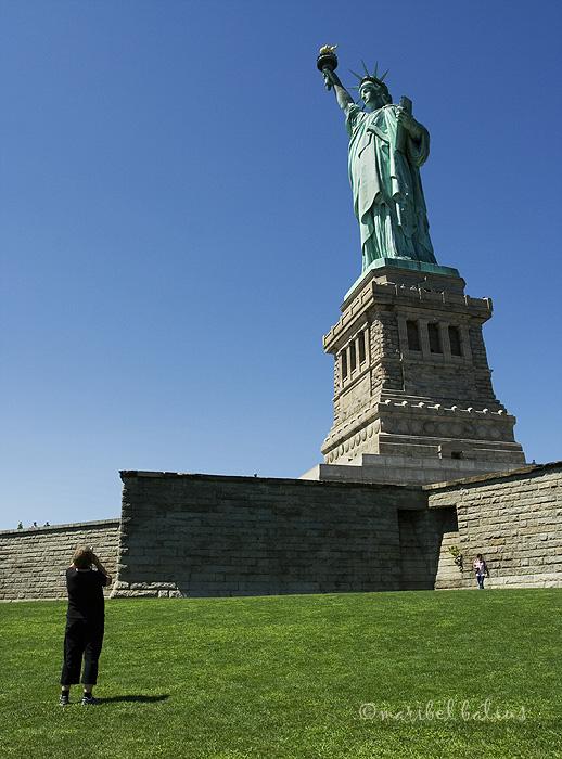 estatua y fotografa