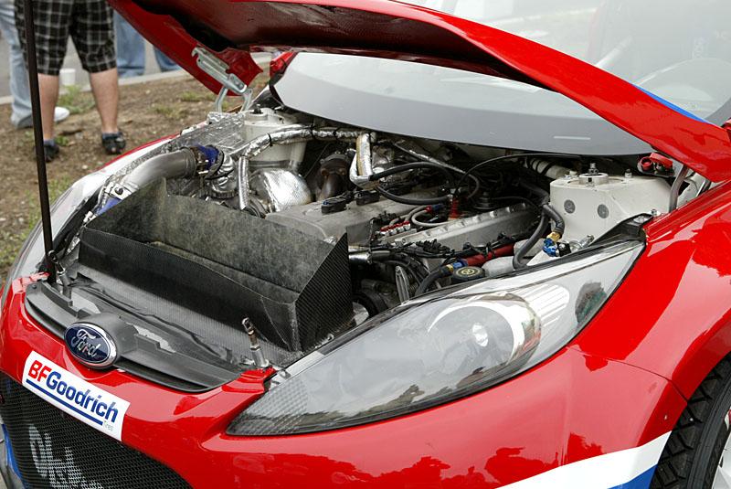 Ford Fiesta Rally engine
