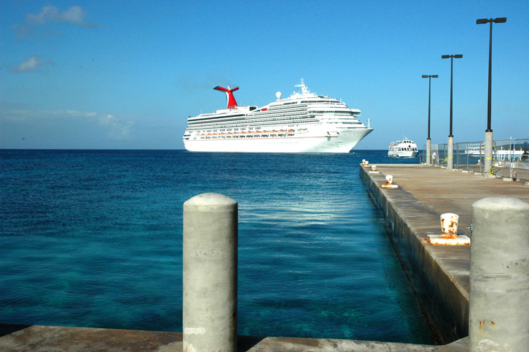 Dock at Grand Cayman