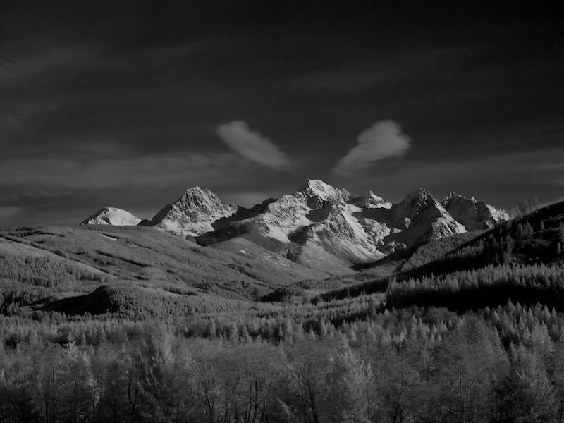 Twin Sisters Mountain, from Acme, WA