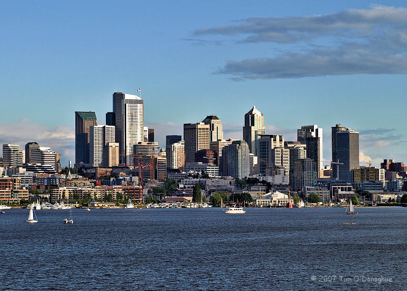 Seattle over Lake Union