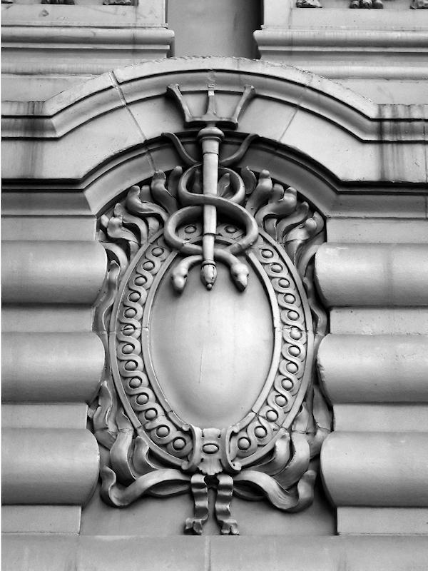 Detail of Cristalla Building