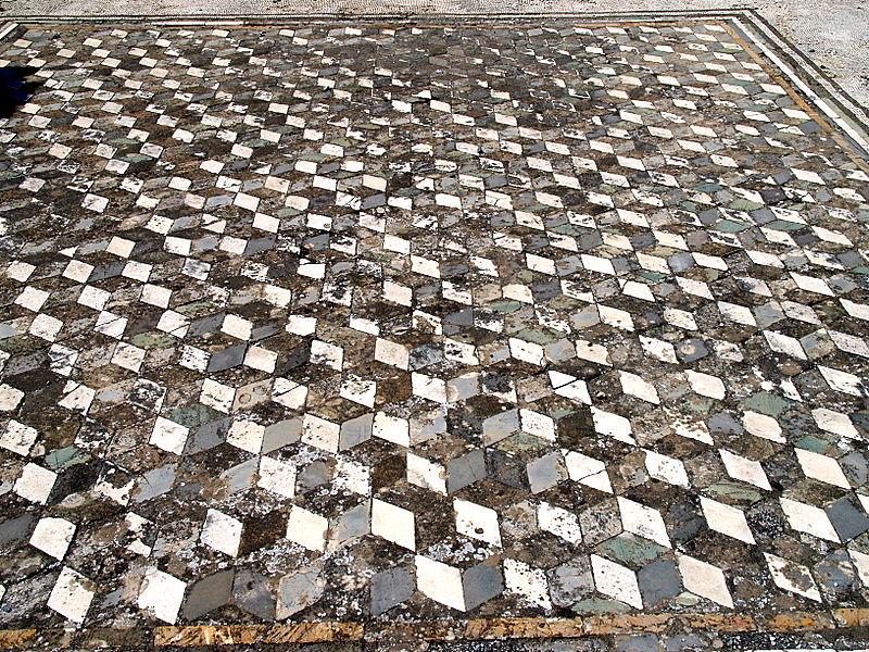 pom mosaic tile floor.JPG