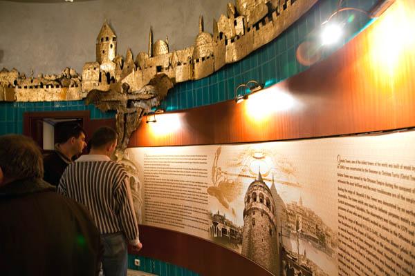 Galata Tower (Inside)