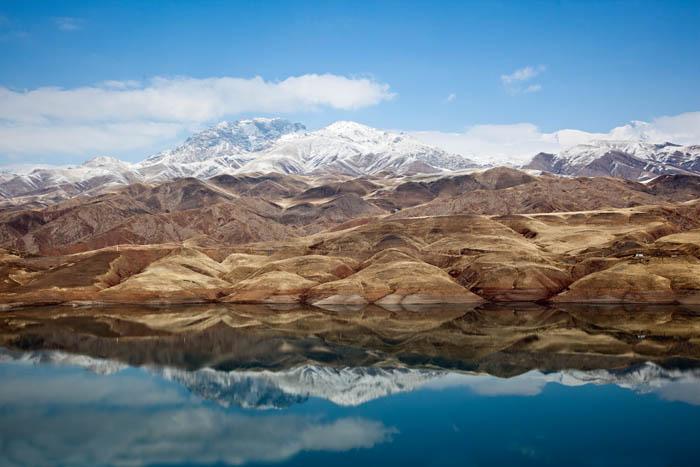 Lake of Taleghan Dam