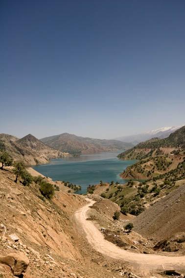 Lake of the Karun III Dam