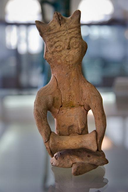 Clay Human Figurin