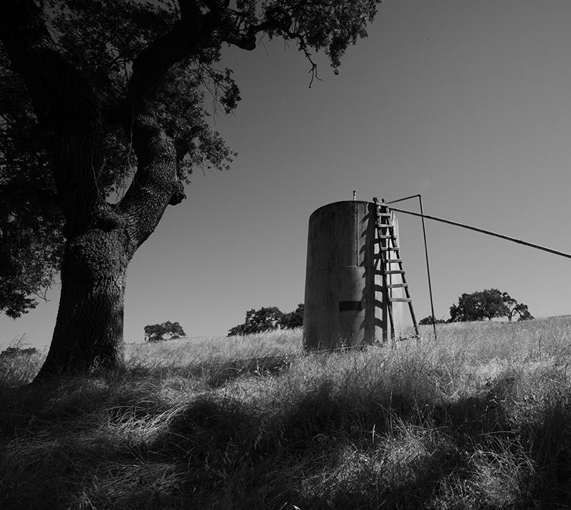 Mountain Water Tank & Ladder