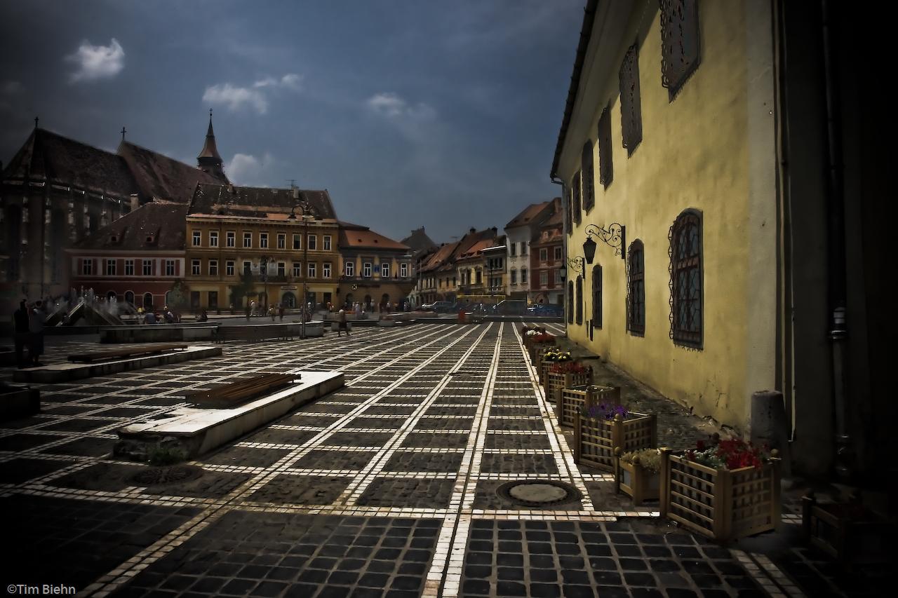 Sfatului Square, Brasov, Romania