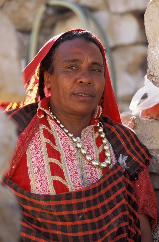 Local woman at Chenini