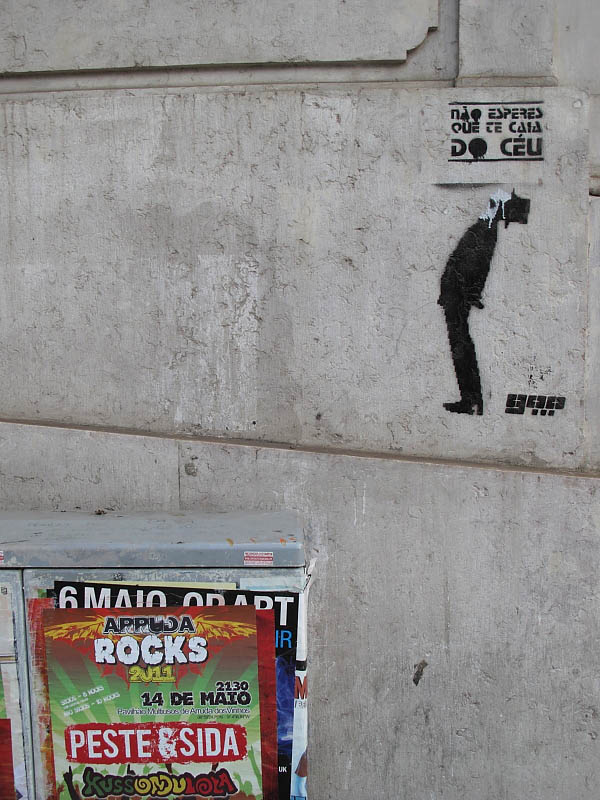 Graffiti and publicity