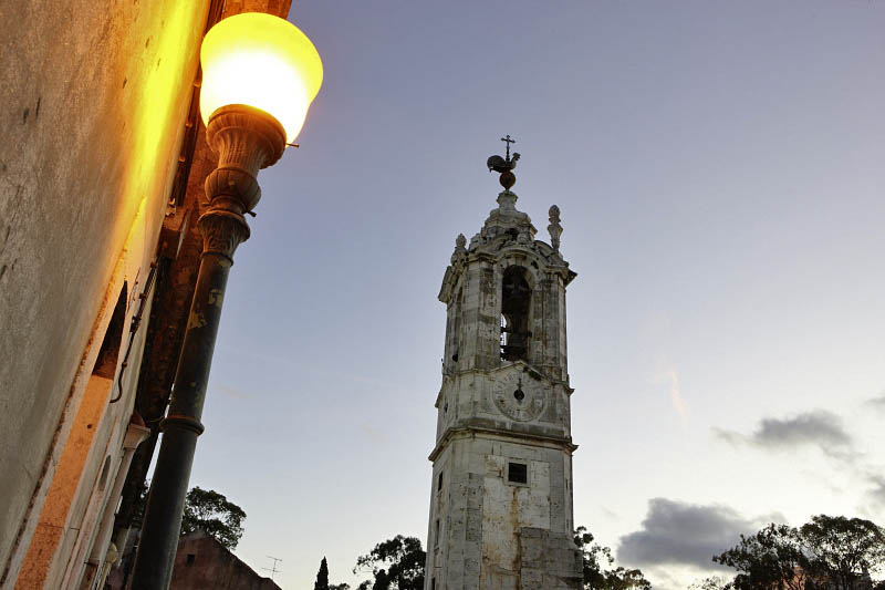 Clock Tower near Ajuda Palace
