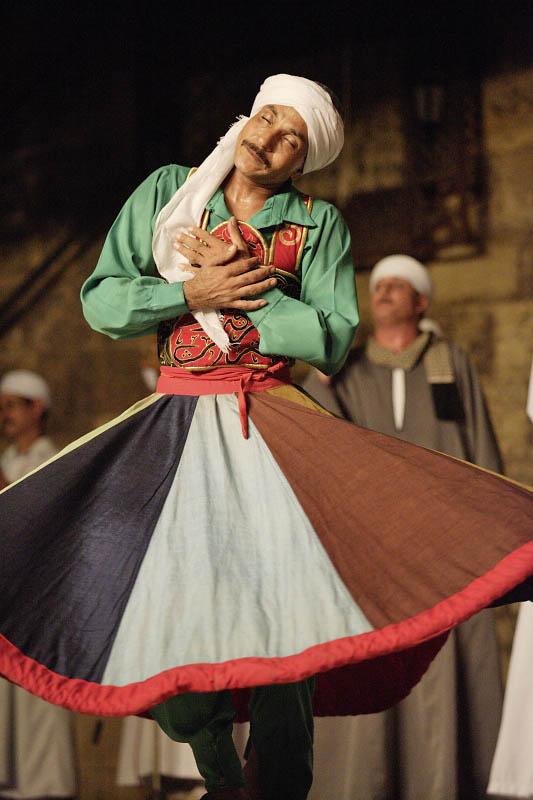 Cairo, Sufi dancing