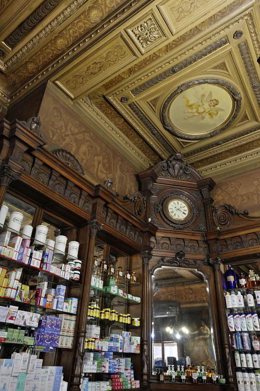 San Telmo, old pharmacy