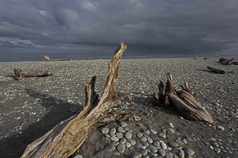Gillespies beach, New Zealand South Island