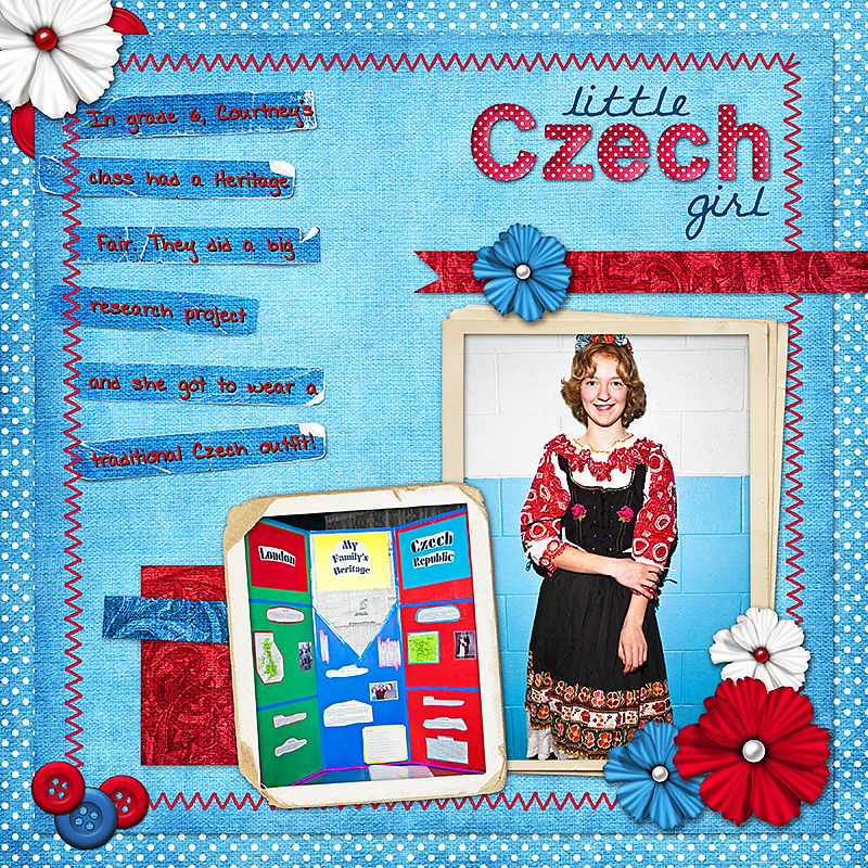 Little Czech Girl