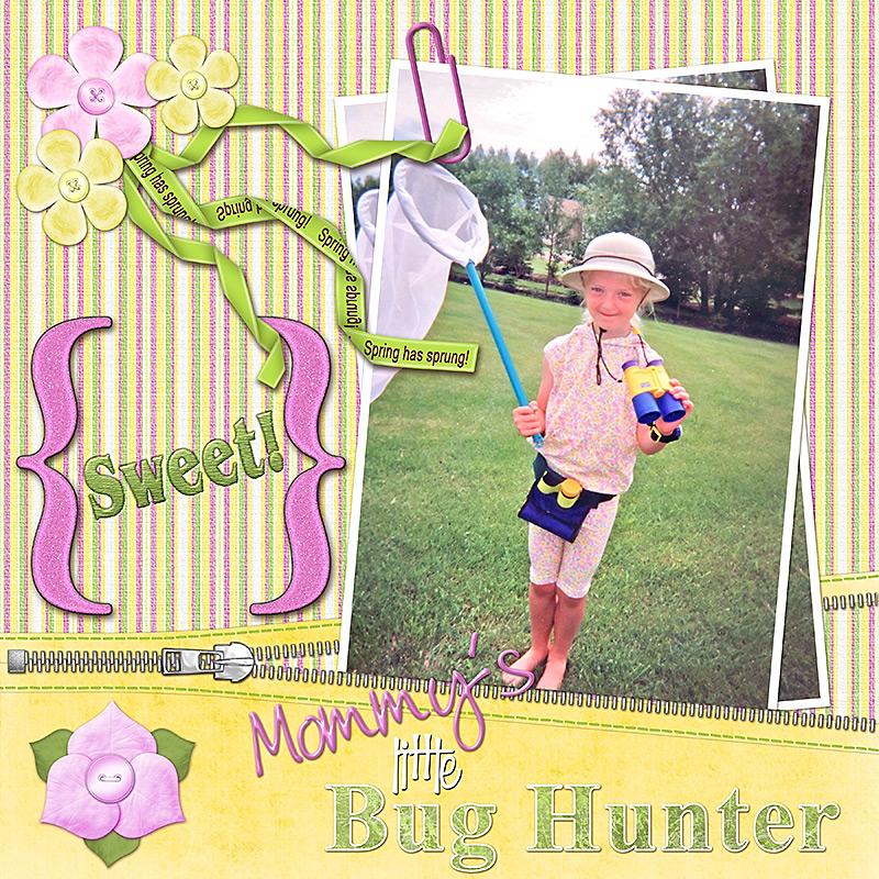 Mommys Little Bug Hunter