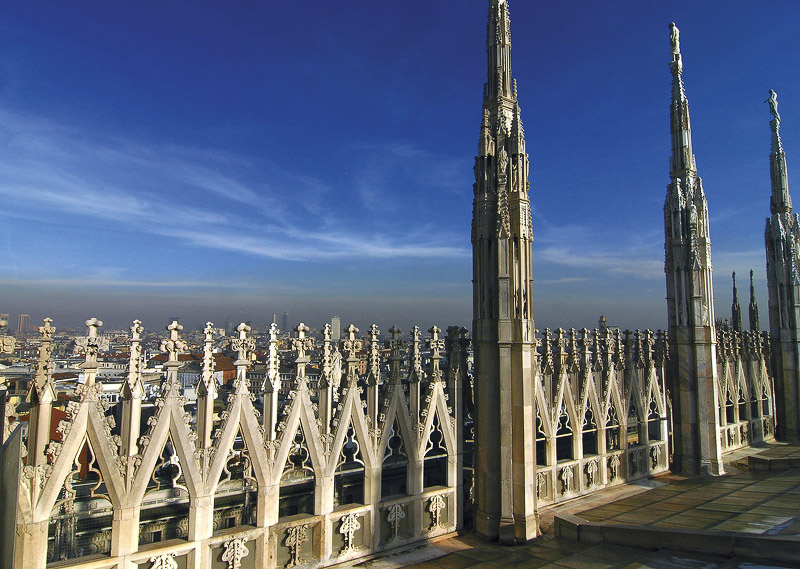 on top of Duomo