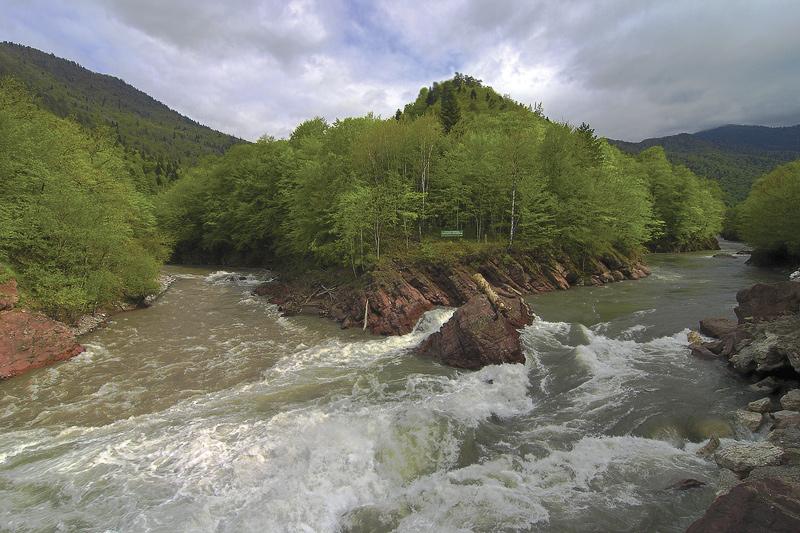 Kishi 1. Belaya river