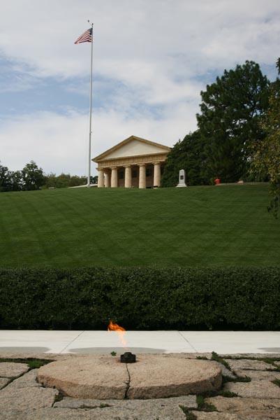 John F. Kennedy burial site at Arlington National Cemetery