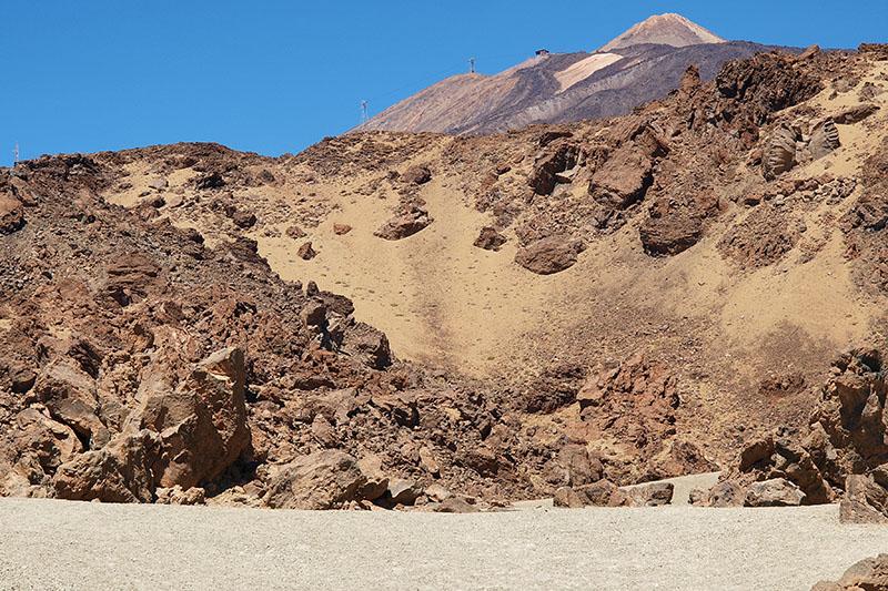 Al pie de El Teide / At foot of El Teide