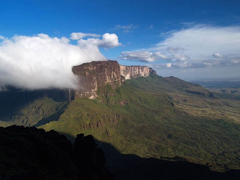 View of Roraima from Kukenan