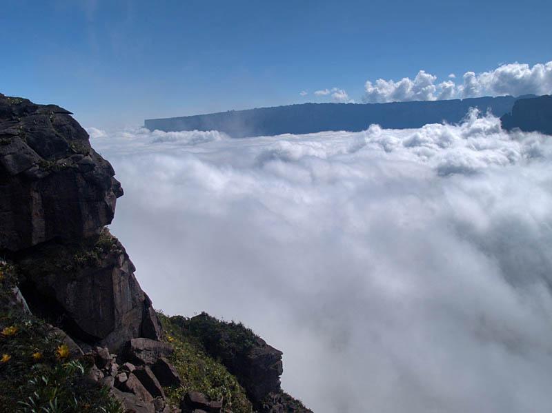 A river of clouds / Un rio de nubes