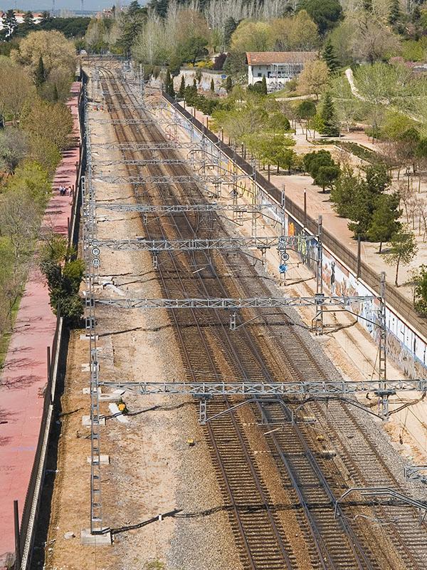 Rieles del Renfe / Rails of the Renfe