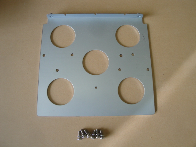 Nesa screen mounting plate.