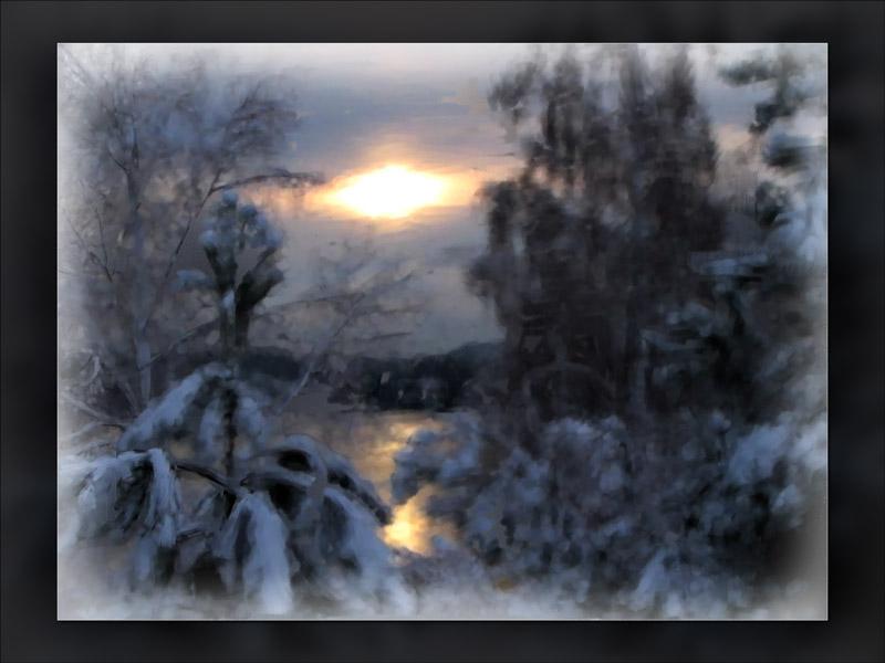snowy....