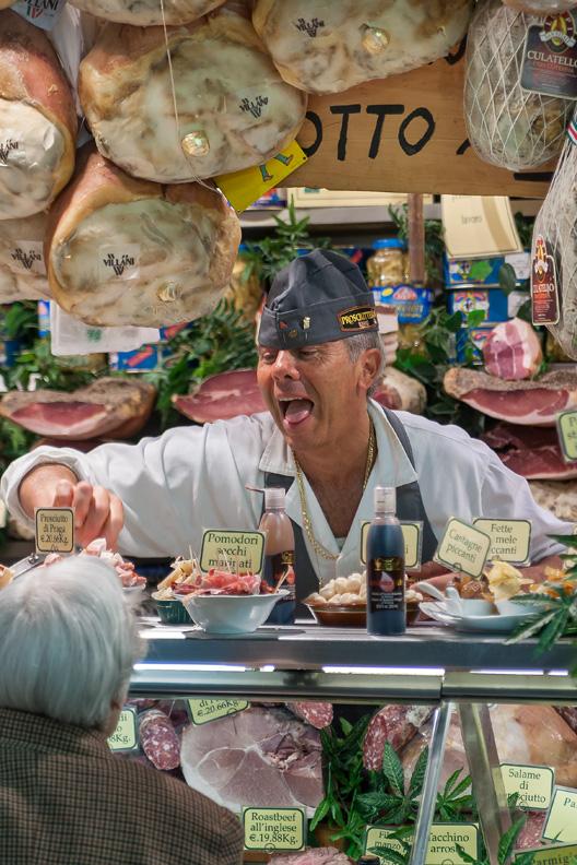 Italian butcher
