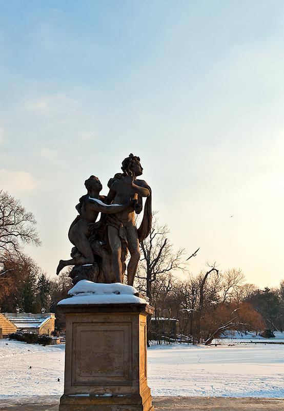 Sculpture In Lazienki Park