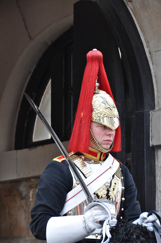 Household Cavalry Trooper