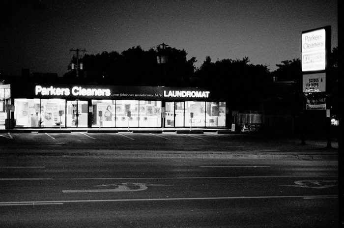 Laundromat Sunset
