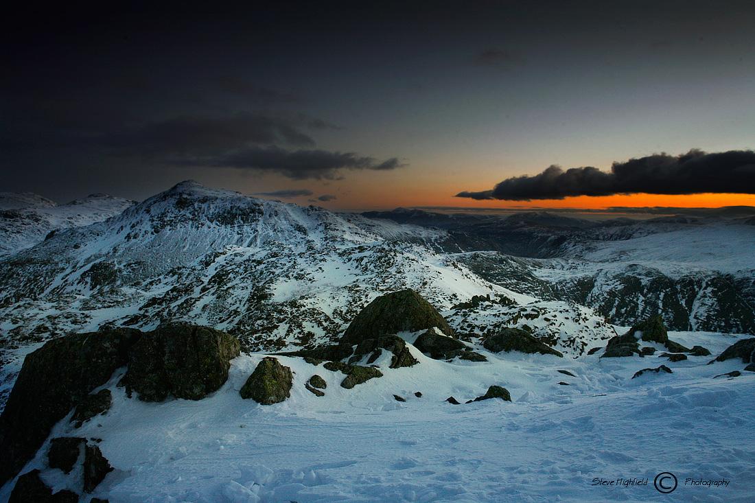 Bowfell - Sunrise