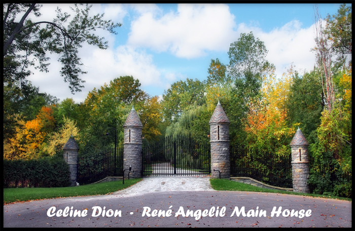 Celine Dions Island entrace  