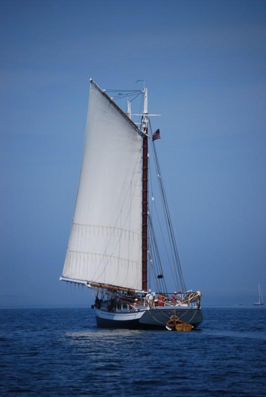 Grace Bailey Reaching to Port