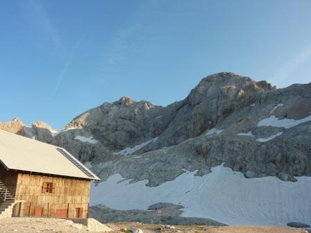 Le Mont Triglav ce sera pour la prochaine fois